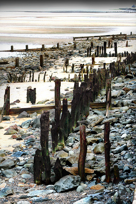 Obsolete Sea Defences at Llanfairfechan by John Quigley